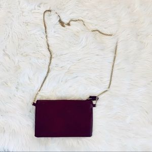 Forever21 Wine Chain Strap  Bag